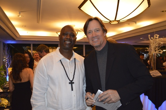 "Kevin Sorbo of TV ""Hercules"" fame with Ken Byes"